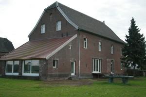 renovatie boerderij voorgevel